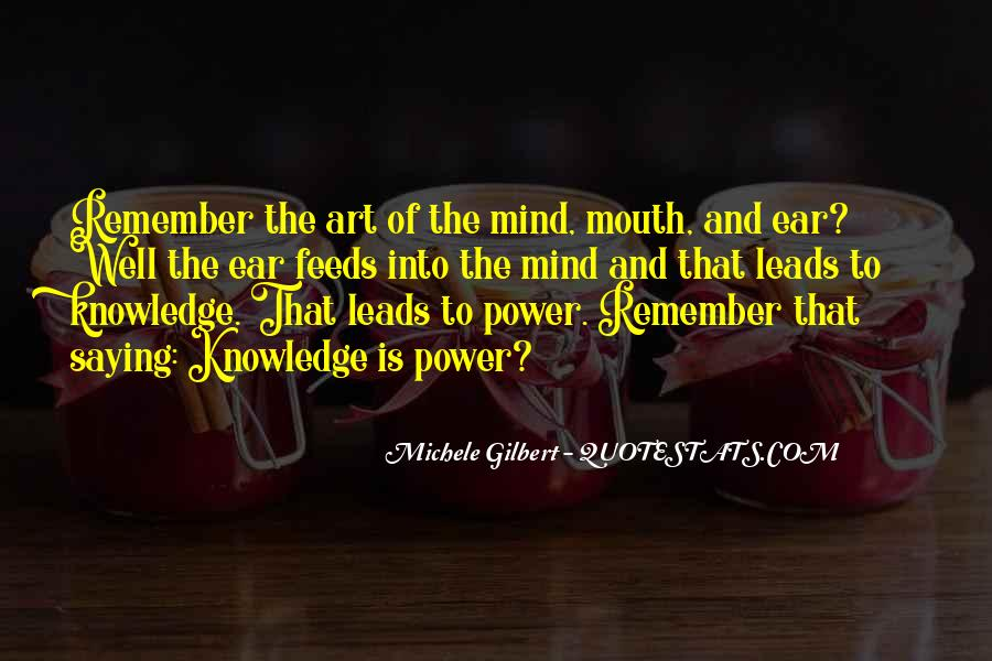 Power Of Mind Quotes #215824