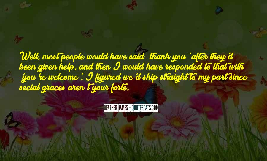Power Of Thank You Quotes #1258112