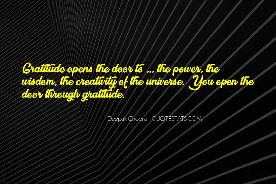 Power Of Thank You Quotes #1628066