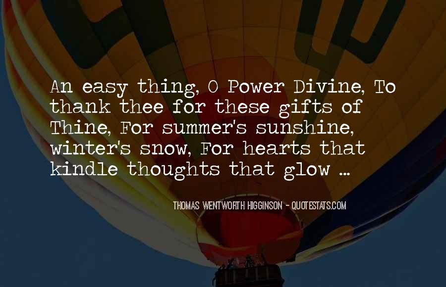 Power Of Thank You Quotes #390659
