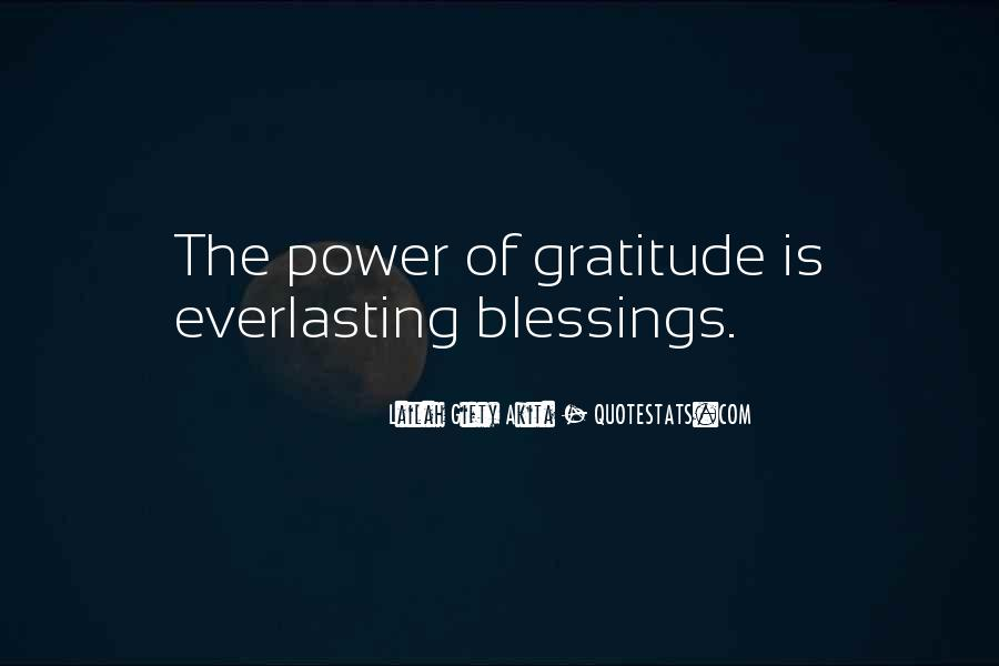 Power Of Thank You Quotes #496951