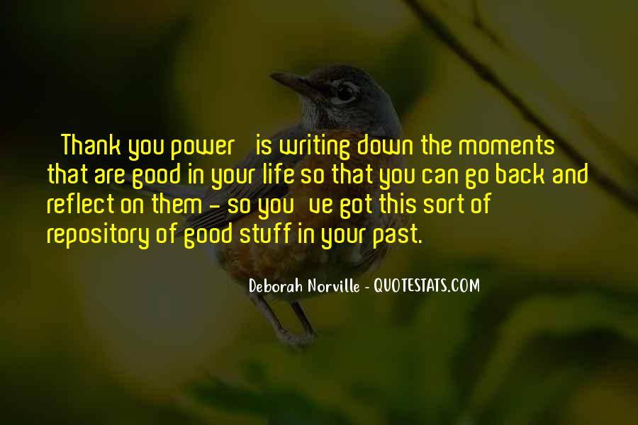 Power Of Thank You Quotes #727518