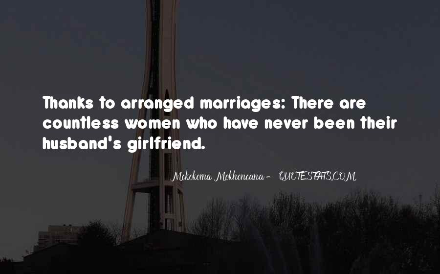 Quotes About Arranged Marriage And Love Marriage #264701