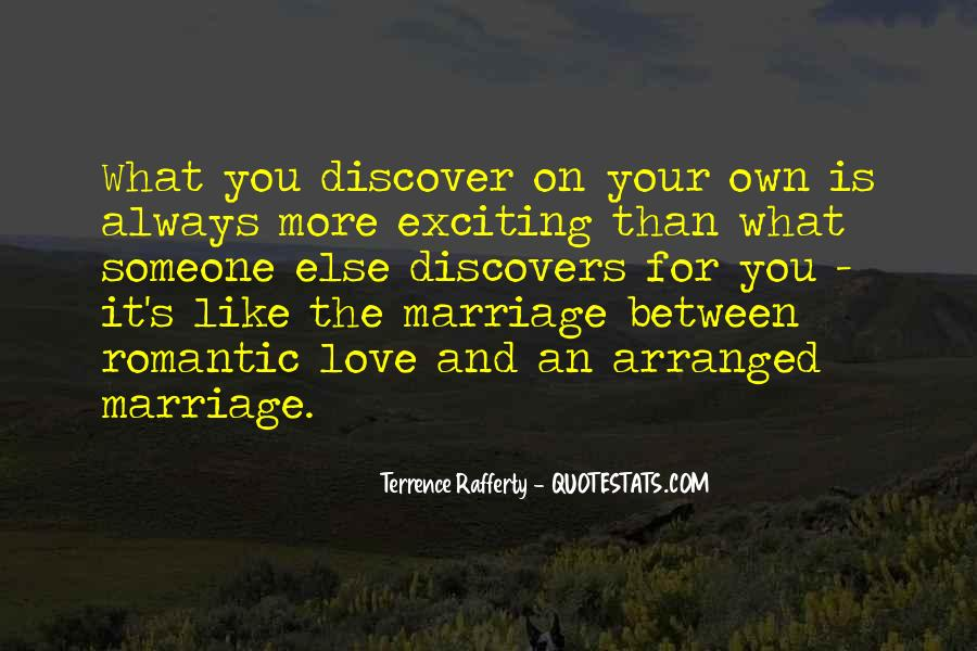 Quotes About Arranged Marriage And Love Marriage #964820