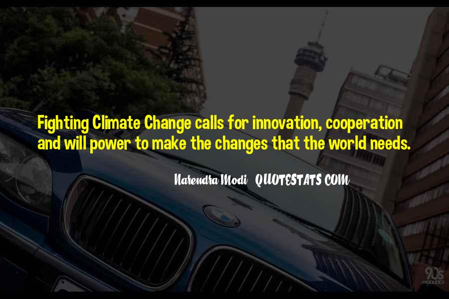 Power To Make A Change Quotes #1129105