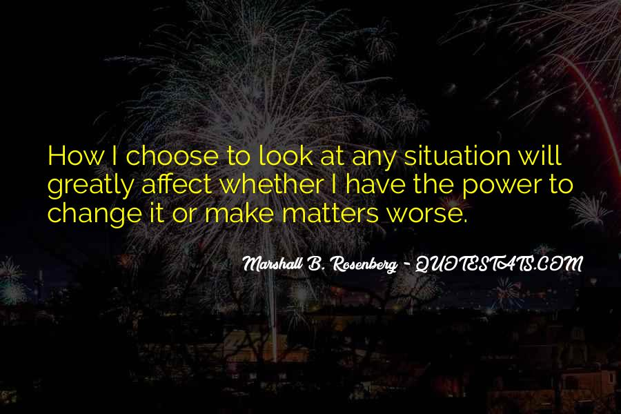 Power To Make A Change Quotes #1247415
