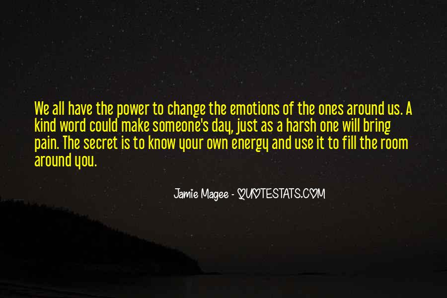 Power To Make A Change Quotes #1295647