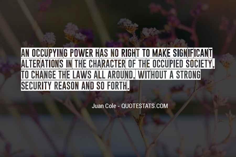 Power To Make A Change Quotes #1337866