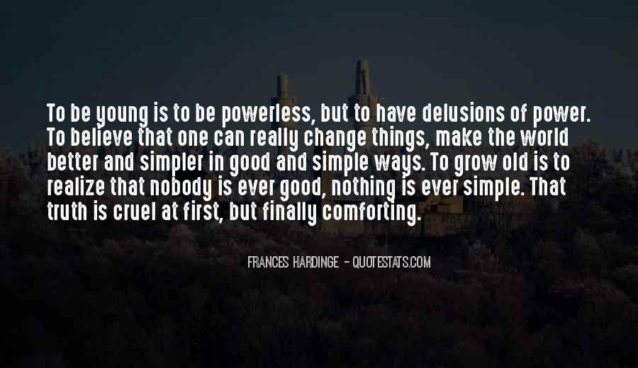 Power To Make A Change Quotes #1739058