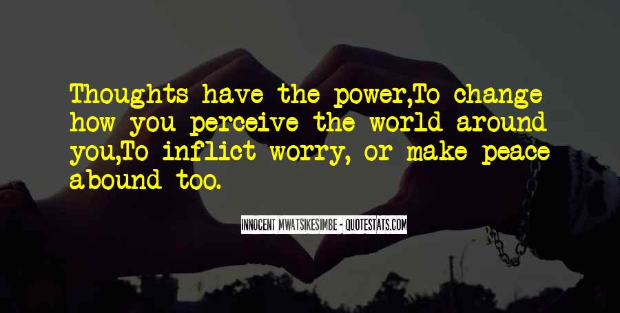 Power To Make A Change Quotes #485591