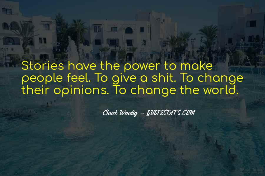 Power To Make A Change Quotes #805795