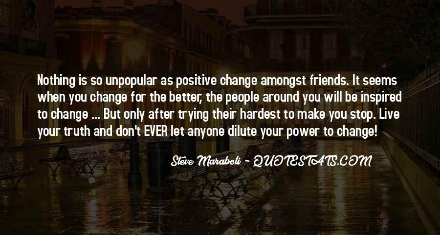 Power To Make A Change Quotes #979190
