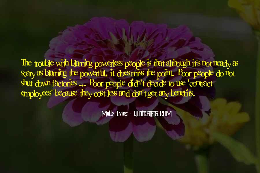 Powerful Powerless Quotes #1525564