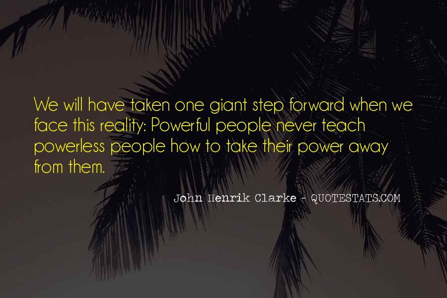 Powerful Powerless Quotes #443932