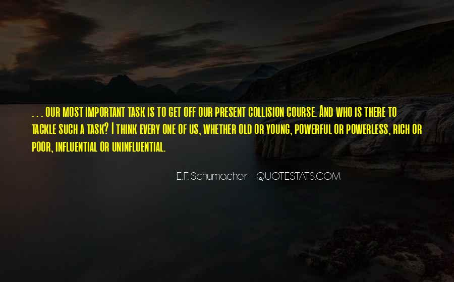 Powerful Powerless Quotes #740636