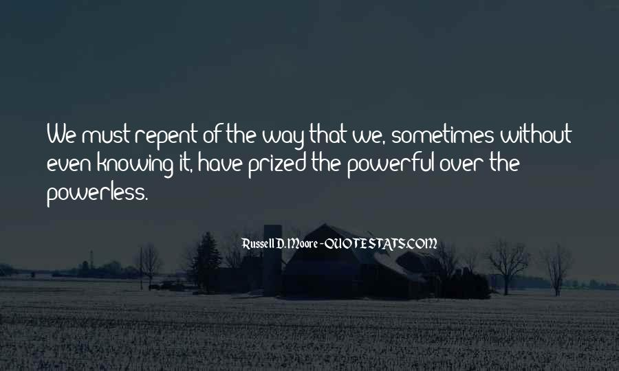 Powerful Powerless Quotes #843521