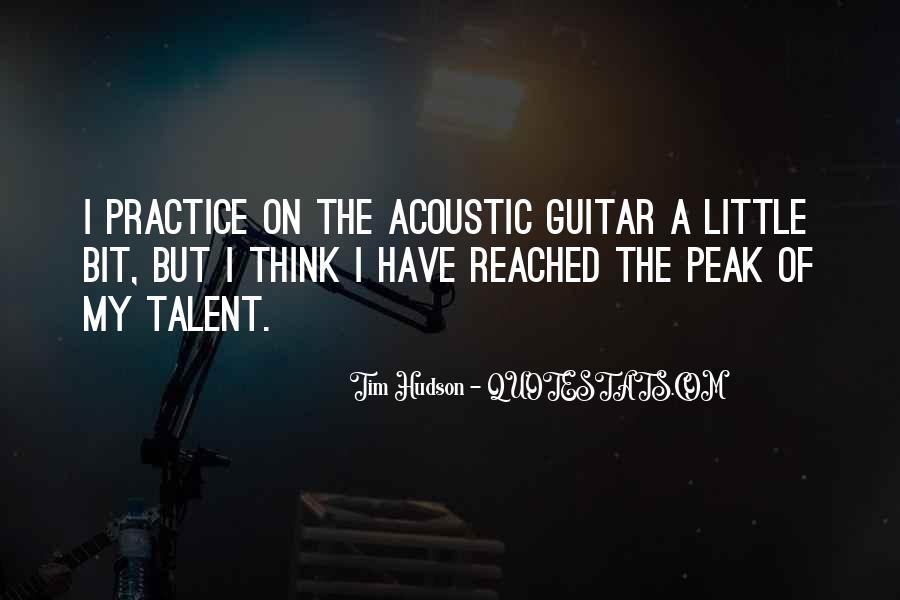 Practice Guitar Quotes #893143
