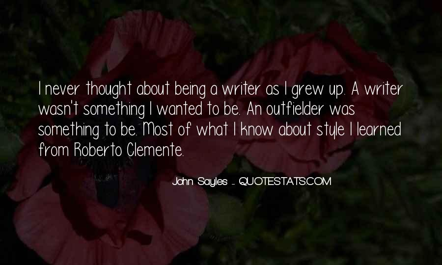 Quotes About Roberto Clemente #873951