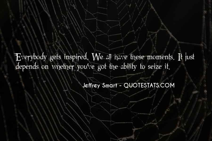 Quotes About Jeffrey Smart #1372988