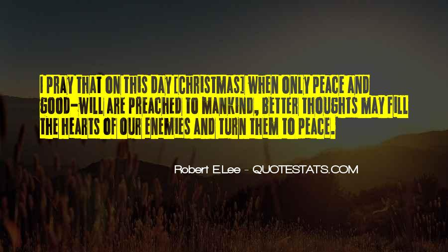 Pray For Your Enemies Quotes #236895