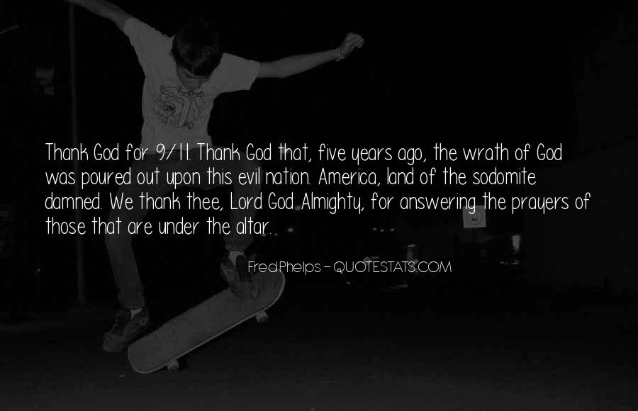 Prayer Answering God Quotes #1008725