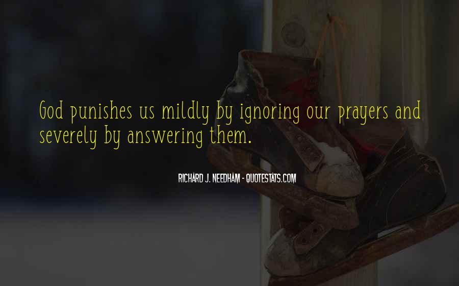Prayer Answering God Quotes #1371370