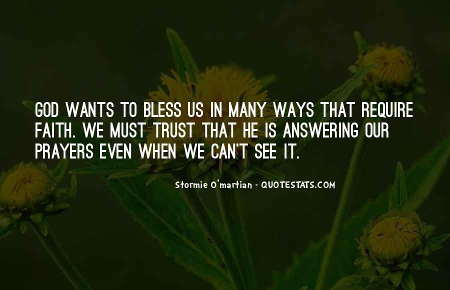 Prayer Answering God Quotes #1397177