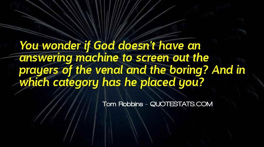 Prayer Answering God Quotes #1410448