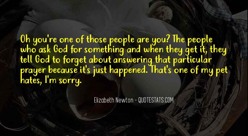 Prayer Answering God Quotes #516360