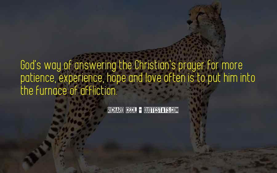 Prayer Answering God Quotes #622206