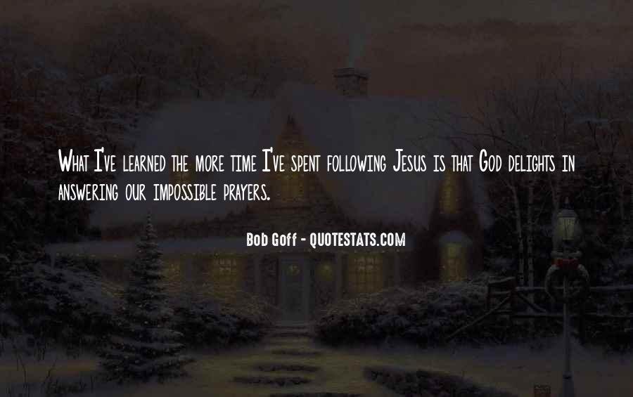 Prayer Answering God Quotes #960413