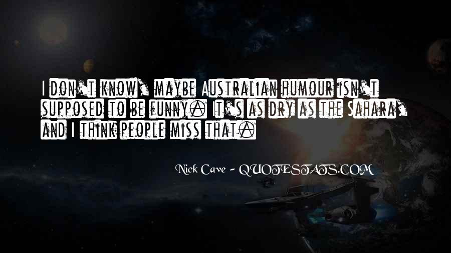 Quotes About Australian People #1079491