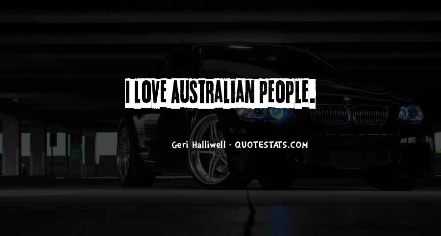 Quotes About Australian People #1364803