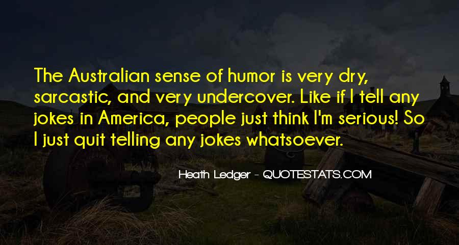 Quotes About Australian People #1393124