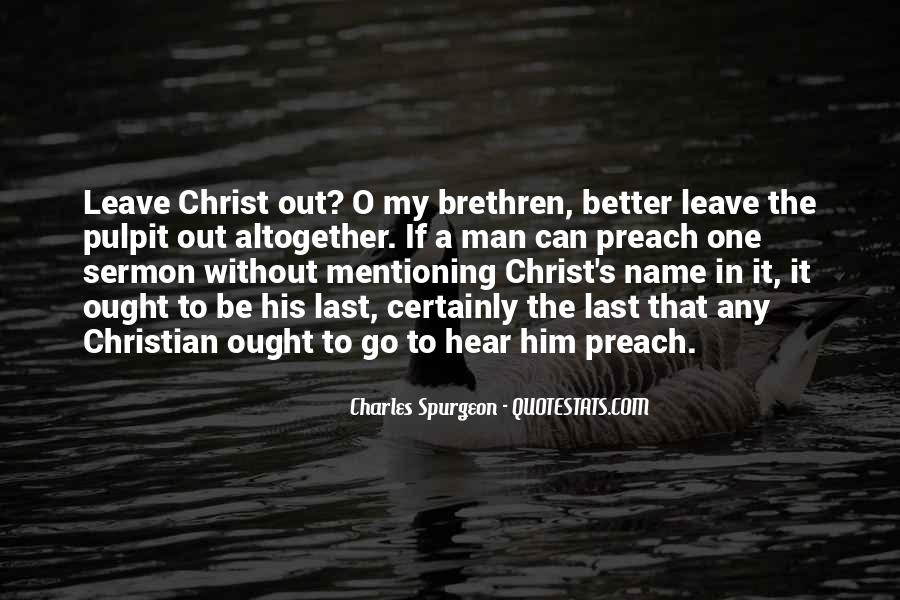 Preach It Quotes #159726