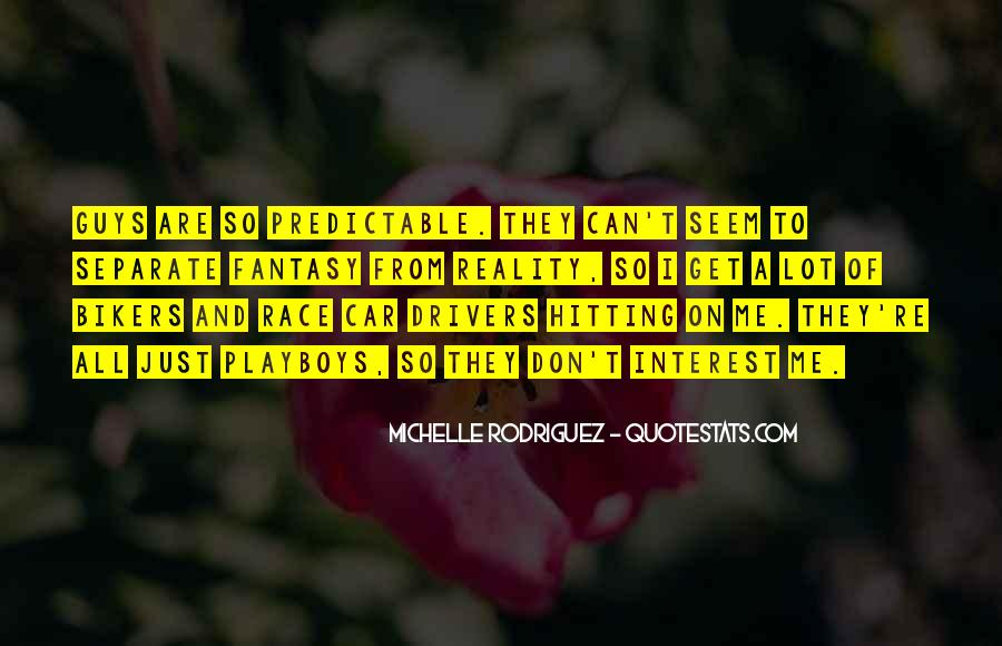 Predictable Guys Quotes #457004