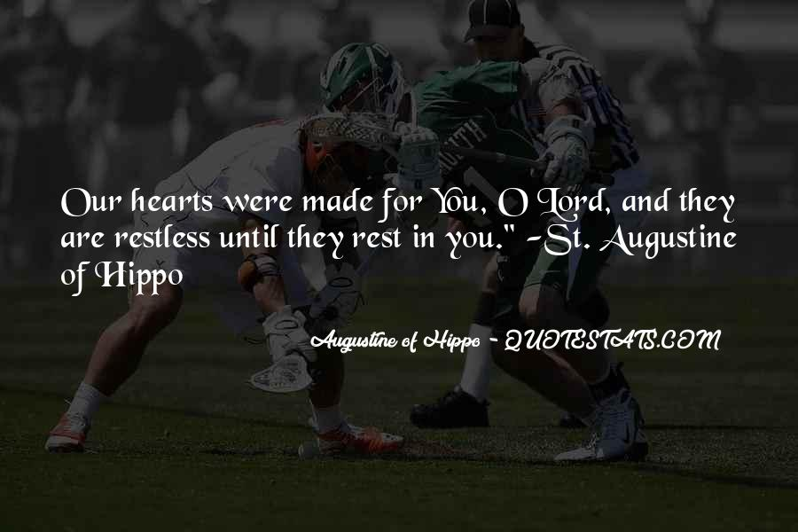 Quotes About Augustine #133104