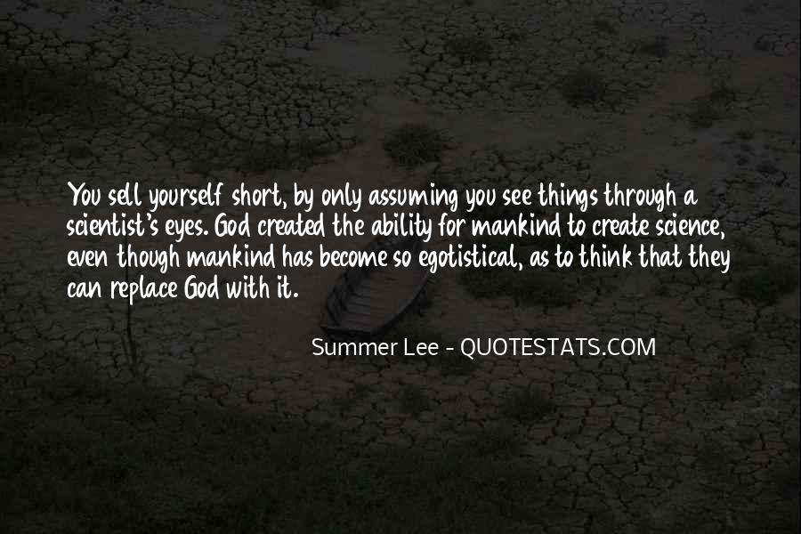 Quotes About Assuming Things #1217754