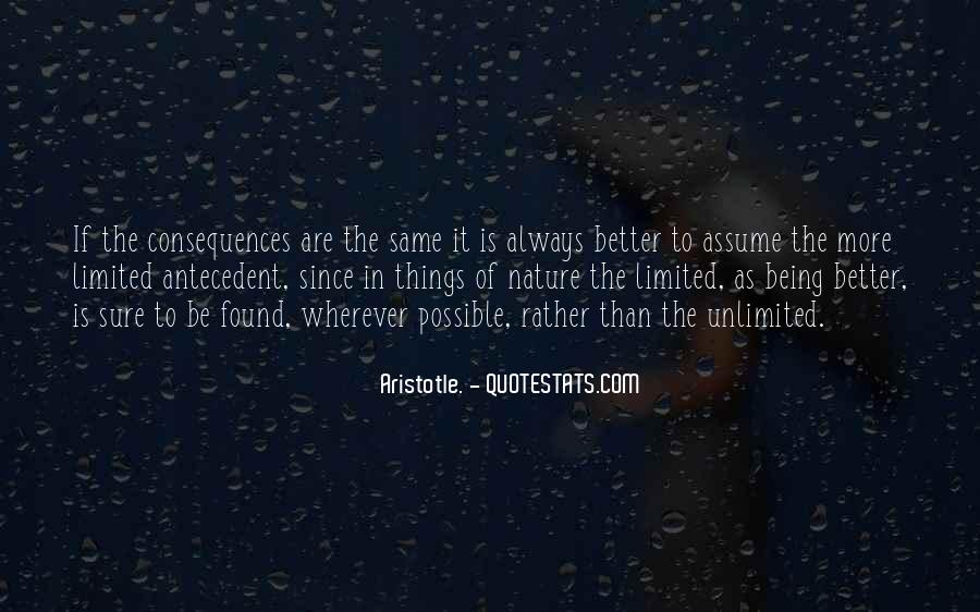 Quotes About Assuming Things #1390262