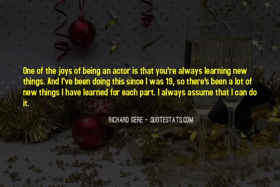 Quotes About Assuming Things #1436997