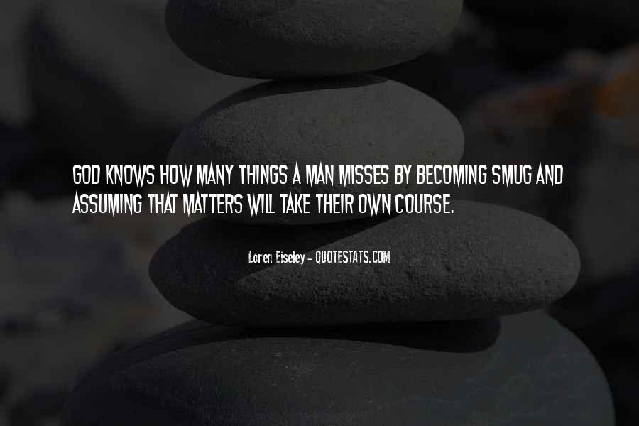 Quotes About Assuming Things #146908
