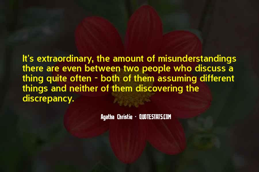 Quotes About Assuming Things #1622625