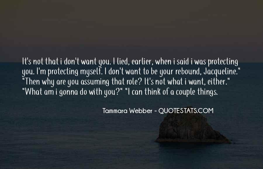 Quotes About Assuming Things #179322