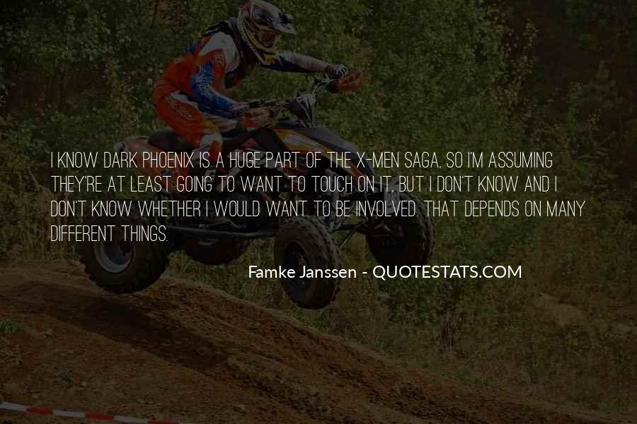 Quotes About Assuming Things #1835918