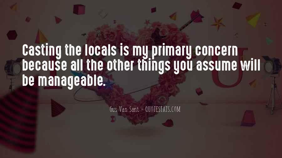 Quotes About Assuming Things #630952