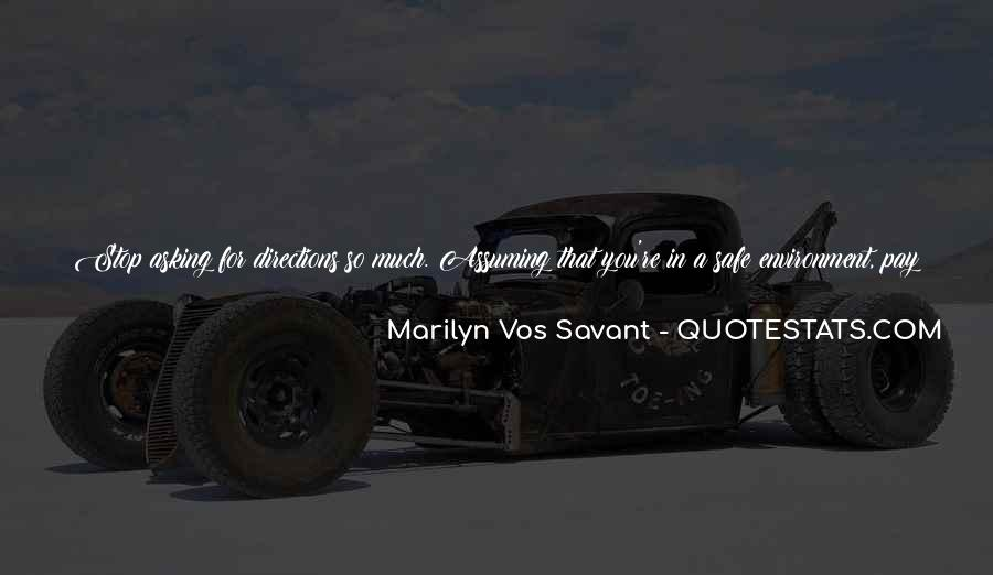 Quotes About Assuming Things #795730