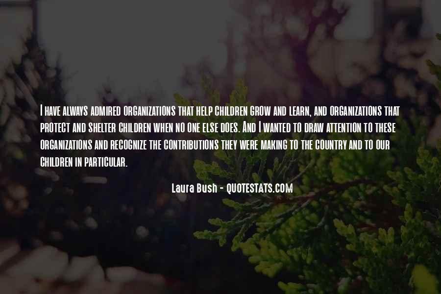 Quotes About Laura Bush #176885