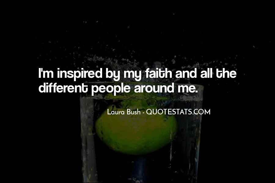 Quotes About Laura Bush #612779