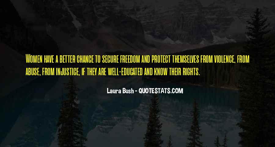 Quotes About Laura Bush #822976