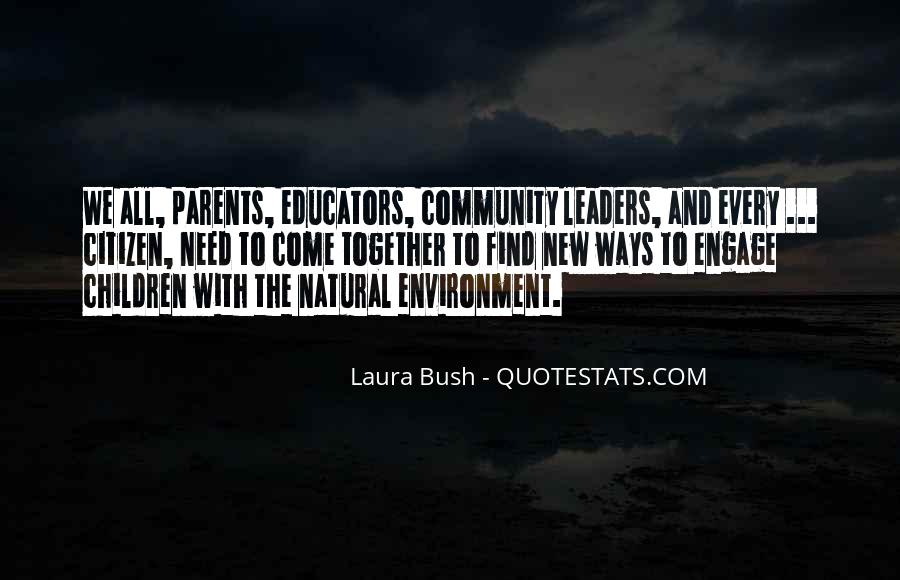 Quotes About Laura Bush #975449